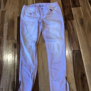 American Eagle lilac/pink jeggings